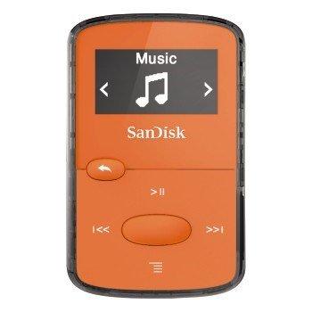 SanDisk MP3 Sansa Clip JAM 8 GB jasně oranžový