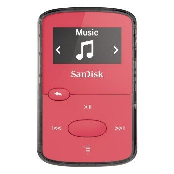 SanDisk MP3 Sansa Clip JAM 8 GB jasně růžový