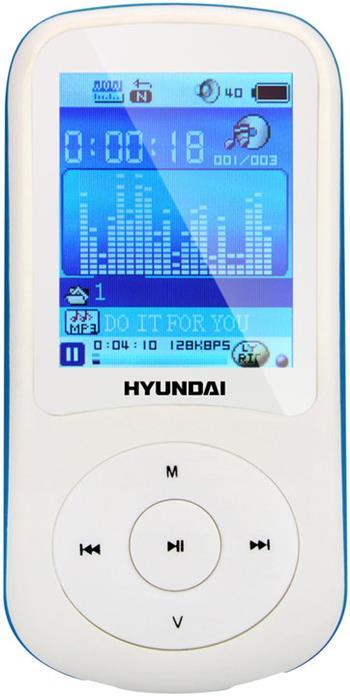 Hyundai MPC 401 FM, 4GB, bílá barva; HYUMPC401GB4FMWB