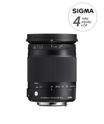 Sigma 18-300/3.5-6.3 DC MACRO OS HSM Contemporary Canon; SI 886954