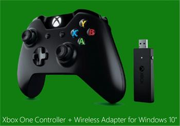 Microsoft Xbox ONE Gamepad bezdrátový pro Windows, USB; NG6-00003