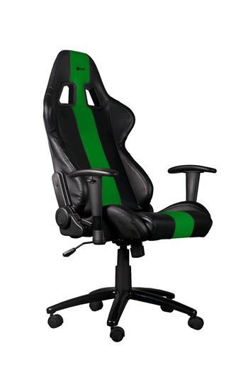 Herní křeslo C-TECH PHOBOS (GCH-01G), černo-zelené; GCH-01G