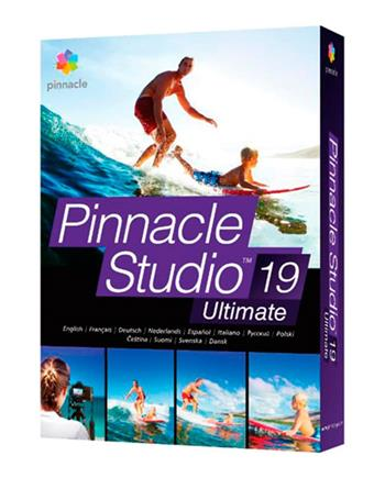 Pinnacle Studio 19 Ultimate ML EU - UPG; PNST19ULMLEU-UPG