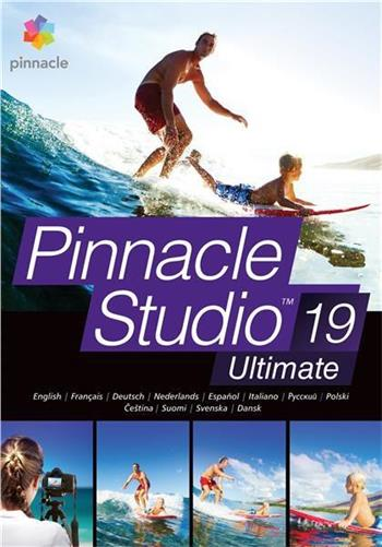 Pinnacle Studio 19 Plus ML EU UPG; PNST19PLMLEU-UPG
