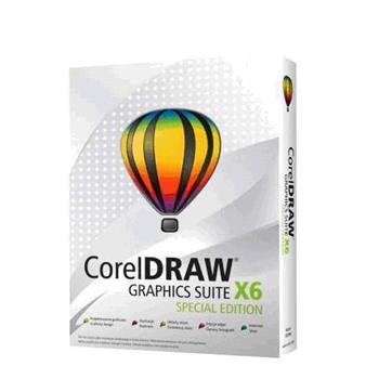 CorelDraw Graphic Suite X6 Special Edition CZ/PL; CDGSX6SPCZPLEU
