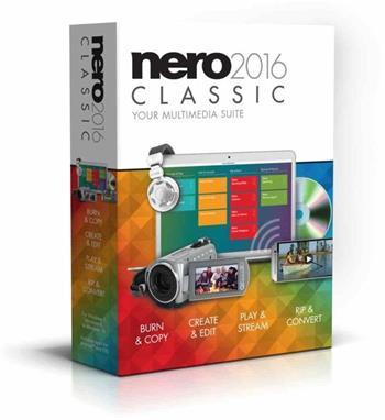 Nero 2016 Classic - CZ; EMEA-10060000/1291