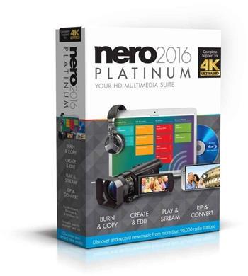 Nero 2016 Platinum - CZ EMEA-12260000/1316Nero 2016 Platinum - CZ; EMEA-12260000/1316