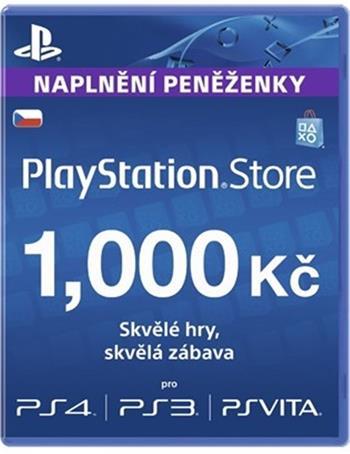 PlayStation Live Cards 1000Kč Hang - pouze pro CZ PS Store; PS719894032