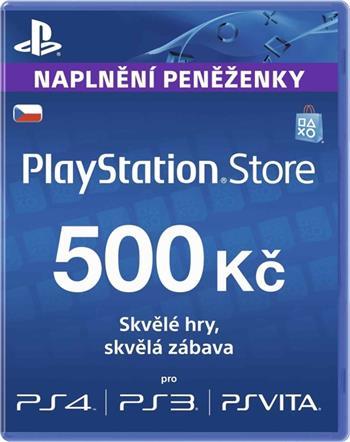 PlayStation Live Cards 500Kč Hang - pouze pro CZ PS Store; PS719894339