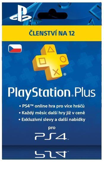 PlayStation Plus Card 365 Days Hang - pouze pro CZ PS Store; PS719807346