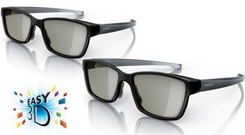 PHILIPS TV - PTA417/00 2x pasivní brýle 3D; PTA417/00