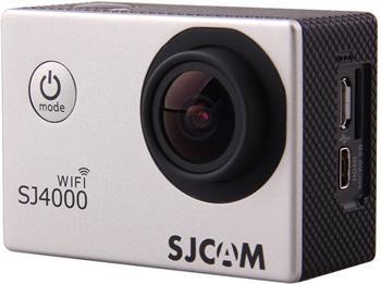 SJCAM SJ4000 WIFI sportovní kamera, stříbrná