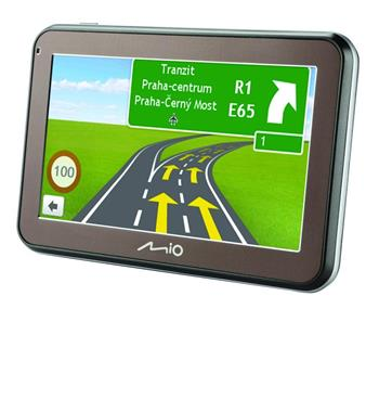 "MIO Spirit 5400 GPS navigace, LCD 4,3"", mapy CZ/SK Lifetime; 5413N5020004"