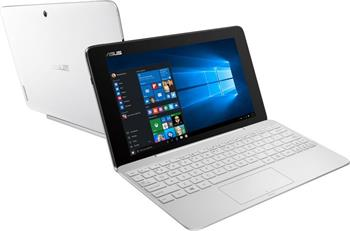 Asus T100HA-FU027T - tablet/notebook, bílý; T100HA-FU027T