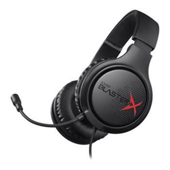 CREATIVE SoundBlasterX H3 gaming sluchátka s mikrofonem, konektor 3.5mm, pro hráče (náhlavní souprava)
