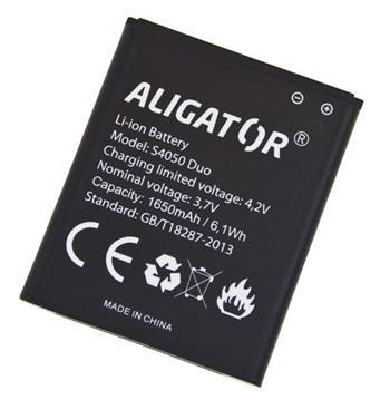 Baterie ALIGATOR S4050 DUO, Li-Ion 1650 mAh, bulk; AS4050BAL