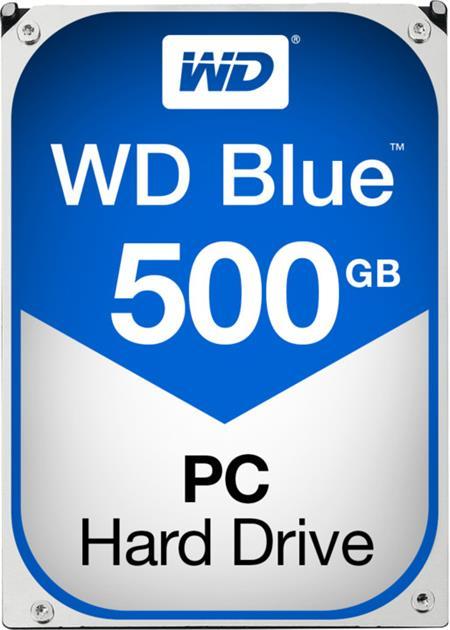 """WD Caviar Blue 500GB HDD - interní disk, 3.5"""", SATAIII/600, 7200 ot./min., 32MB cache; WD5000AZLX"""