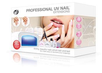Rio Professional UV Nails Extensions - sada na gelové nechty