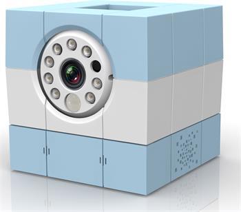 Amaryllo iBabi HD Blue - bezdrátová domácí chůvička s kamerou