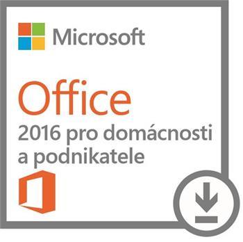 DELL MS Office pro podnikatele / Home & Business/ 2016/ pouze pro HW DELL; 630-ABDD