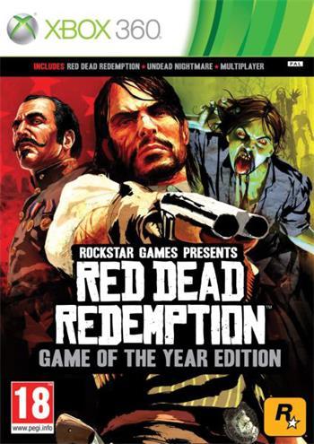 X360 Red Dead Redemption GOTY