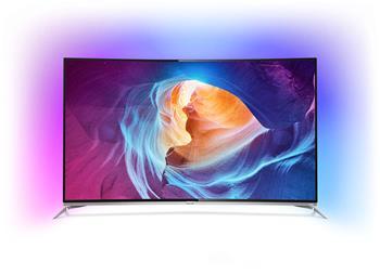 Philips 55PUS8700 3D prohnutá UHD LED televize