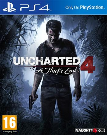 PS4 Uncharted 4: A Thief's End ; PS719454717
