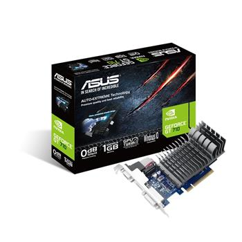 ASUS GT710-1-SL//VGA,DVI,HDMI, 1GD3- grafická karta; 90YV0941-M0NA00