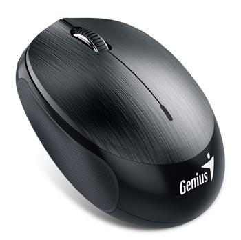 Genius NX-9000BT myš, bluwtooth 4.0, 1200dpi, USB, kovově šedá, dobíjecí baterie