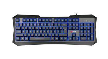 C-TECH Nereus (GKB-13), CZ/SK, 3 barvy podsvícení, USB klávesnice; GKB-13