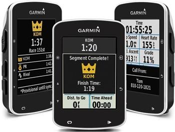 Edge 520 Bundle Premium - GPS cyklopočítač