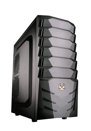 C-TECH TYPHON (GC-03), USB 3.0, černo-šedá, PC herní skříň, bez zdroje