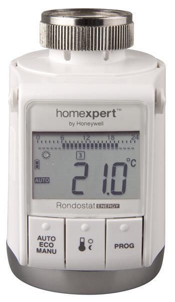 EMOS Digitální termostatická hlavice HR25EE *PH5625; 2101702500