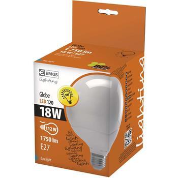 LED žárovka Globe 18W E27 denní bílá; 1525593310