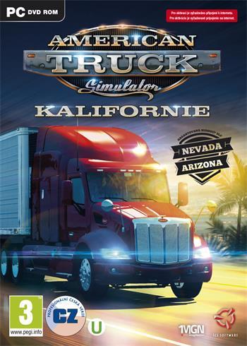 PC American Truck Simulator; 8592720122473