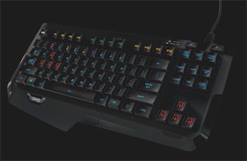 Logitech G410 Atlas Spectrum, mechanická herní klávesnice US