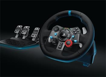 Logitech G29 Driving Force Racing Wheel, volant pro PlayStation 4, PlayStation 3 a PC; 941-000112