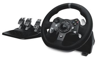 Logitech G920 Driving Force Racing Wheel, volant pro Xbox One a PC; 941-000123