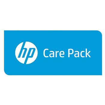 HP CarePack - Pozáruční oprava v servisu s odvozem a vrácením, 1 rok; UK709PE