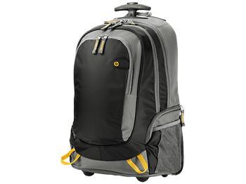"HP 15.6"" Roller Backpack; J6X32AA"