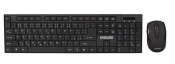 EVOLVEO WK-122 set bezdr. klávesnice a myši