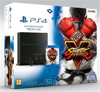 Sony PS4 Playstation 4 1TB + Street Fighter 5