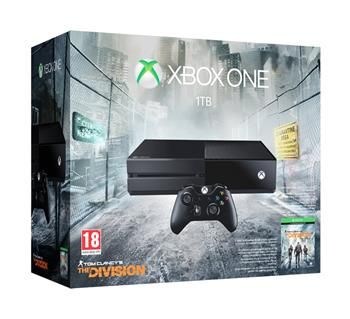 Microsoft Xbox One 1TB + 1 x hra (Tom Clancy's The Division); KF7-00137