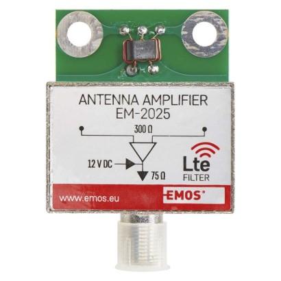 EMOS Anténní předzesilovač 25dB VHF/UHF *J5802; 2507100600