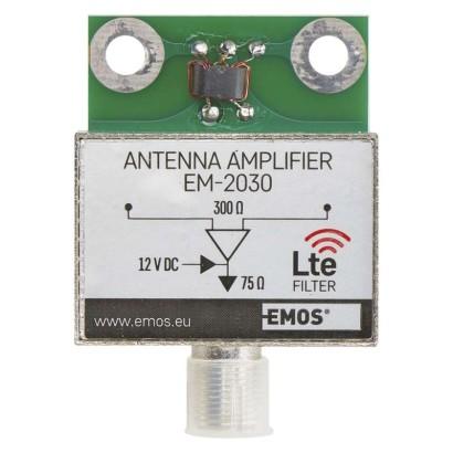 EMOS Anténní předzesilovač 30dB VHF/UHF *J5803; 2507100700
