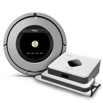 iRobot Roomba 886 + Braava 390; R886B390