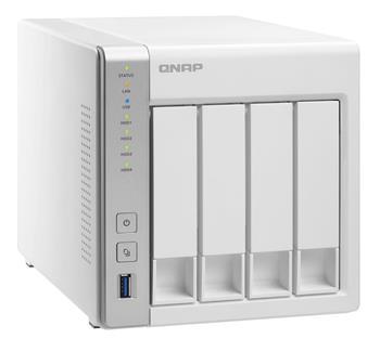 QNAP TS-431+ (1,4GHz/1GB RAM/4xSATA); TS-431+