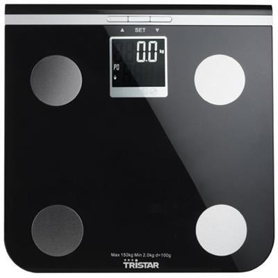 Tristar WG-2424 Osobní váha, max nosnost 150 kg, možnost analýzy tělesného tuku, svalů a vody v těle; WG-2424
