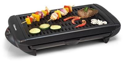 Tristar BQ-2818 Barbecue-gril, nepřilnavý povrch, plocha na pečení: 38x26cm, 1300 W; BQ-2818