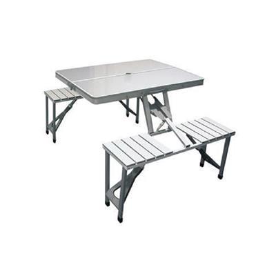 Tristar Campart TA-0820 Skládací piknikový stůl + sezení 136 x 86,5 x 67,5 cm, nosnost na jedno místo 100 kg; TA-0820